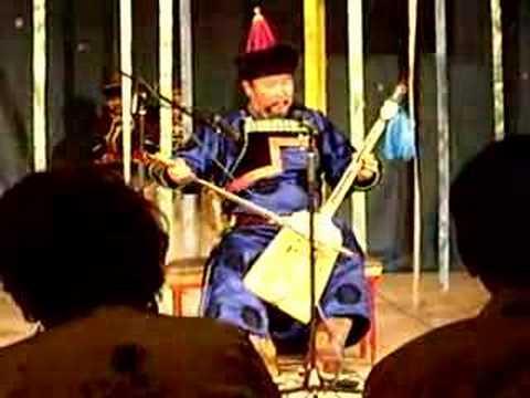 Buryat story teller 'ulgershin' 7