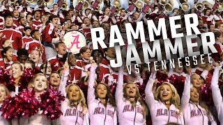 Alabama fans serenade Neyland Stadium with 'Rammer Jammer' after the Tide's 58-21 win over the Vols