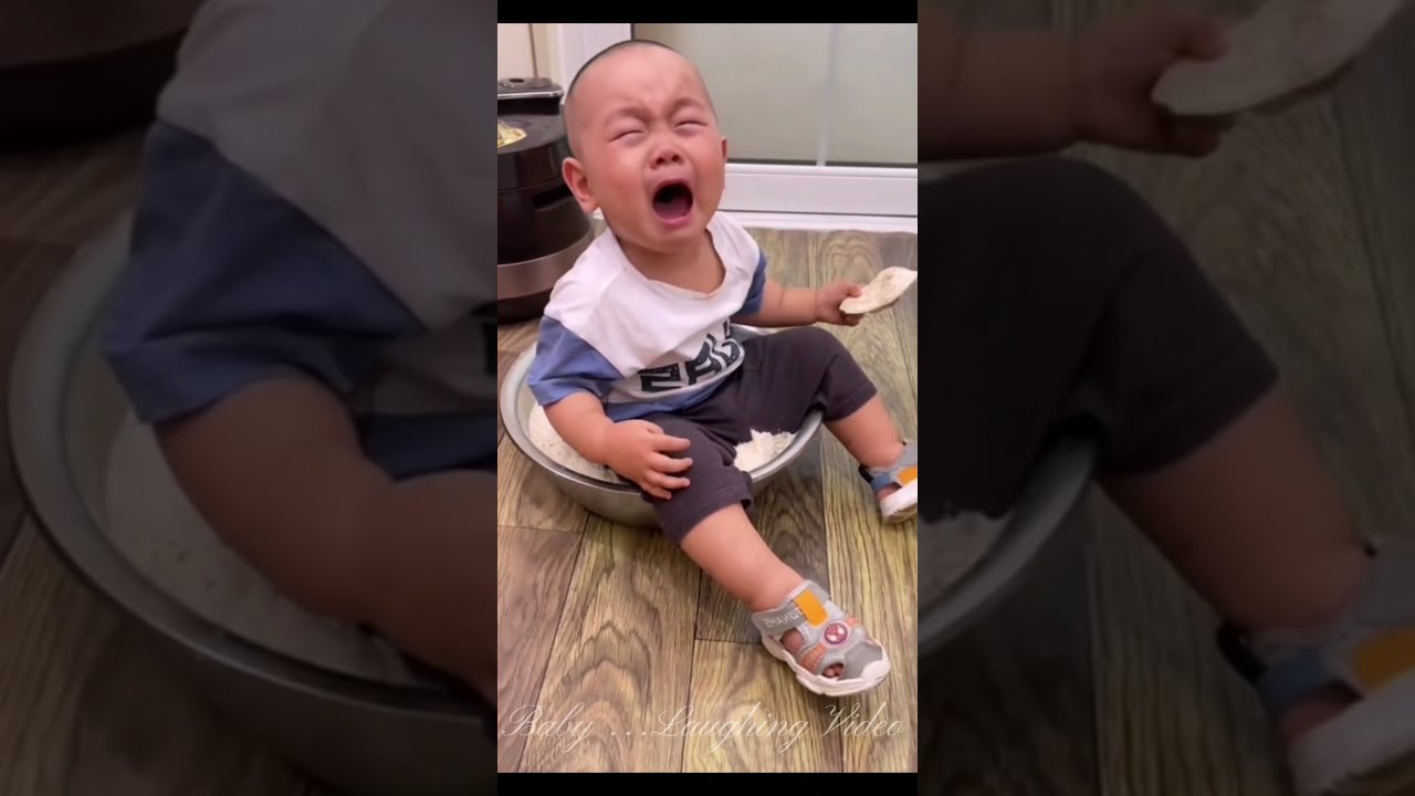 Funny naughty babies make me cry and laugh🤣🤣🤣🤣