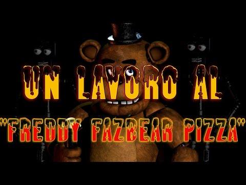 """creepypasta - un lavoro al """"freddy fazbear pizza"""" [ITA]"""