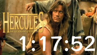 Hercules: The Legendary Journeys N64 Speedrun in 1:17:52 [Former World Record]