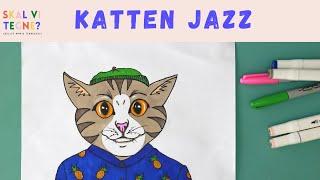Skal vi tegne katten Jazz