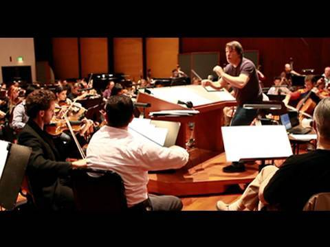 Film Music Rehearsal: David Newman & CSUN Studio Orchestra @ Warner Bros.
