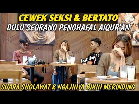 PRANK SHOLAWAT!! CEWEK SEKSI U0026 BERTATO SUARA SHOLAWATNYA😍