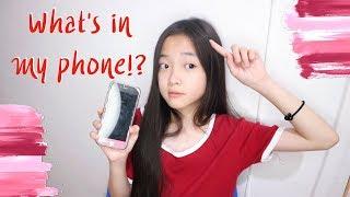 Oumttp | What's in my phone?!  อะไรอยู่ในมือถืออุ้มบ้างน้าาา??
