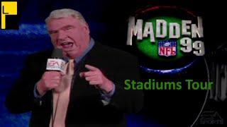 Madden NFL 99 All Stadiums (4K60FPS)