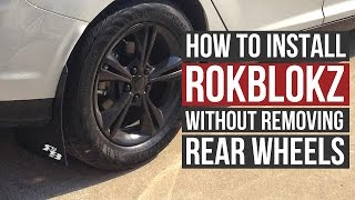 Video How to install RokBlokz without removing rear wheels! download MP3, 3GP, MP4, WEBM, AVI, FLV Juli 2018