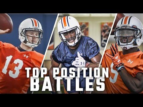Breaking down Auburn's most heated position battles
