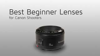 Best Canon lenses for beginner photographers