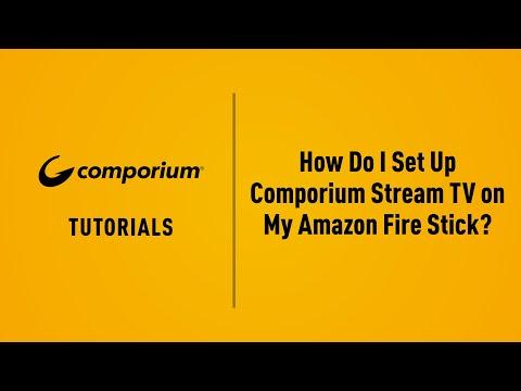 How To Set Up Your Comporium Stream TV Account?