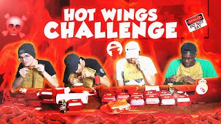 MOB TRIES THE HOTTEST WINGS IN L.A. (Buffalo Wild Wings CHALLENGE)