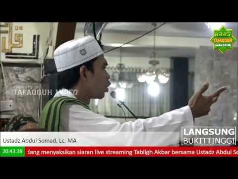 Tabligh Akbar Membangkitkan Ustadz Abdul Somad Masjid Agung Tangah Sawah, Bukittinggi