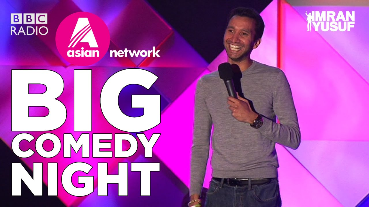 Imran Yusuf - BBC Asian Network's Big Comedy Night 2014 (FULL)