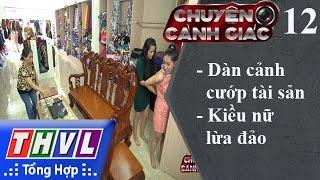 THVL | Chuyện cảnh giác - Kỳ 12: Dàn cảnh cướp tài sản, kiều nữ lừa đảo