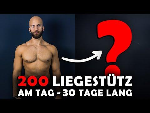 200 Liegestütze am
