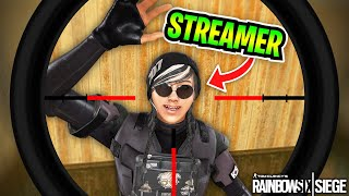 STREAM SNIPING in Rainbow Six Siege