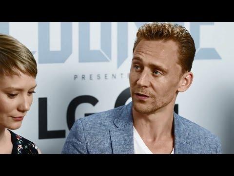 Crimson Peak Cast - Tom Hiddleston, Jessica Chastain, Mia Wasikowska- SDCC 2015 Interview - EW