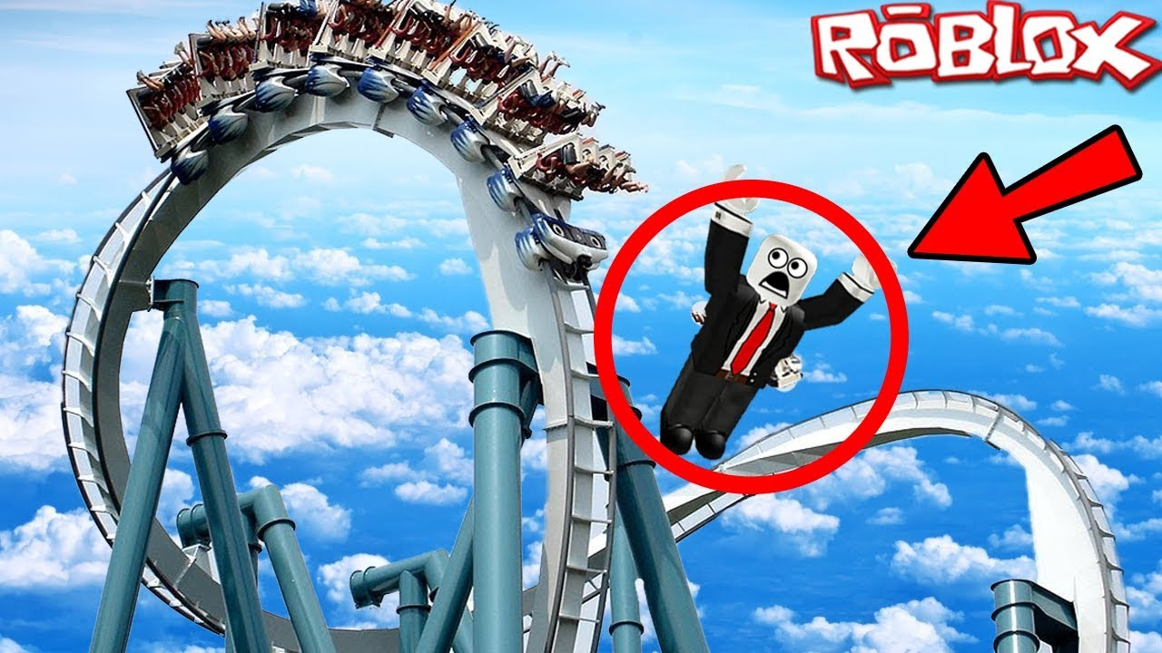 Dantdm Roblox Games Roller Coaster I Fell Out Of A Roller Coaster In Roblox Roblox Roller Coaster Rides Roller Coaster Accident Youtube