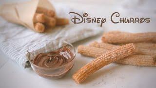 The Official Disney Magical Churros Recipe 迪士尼招牌吉拿棒