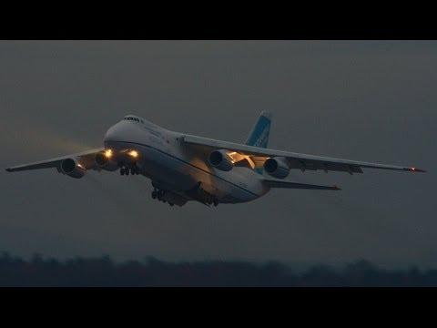 ADB Antonov-124 at ZRH ( WONDERFUL SOUND )