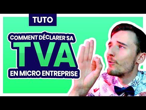 [Tuto] Comment Déclarer sa TVA Auto Entrepreneur et Micro entreprise en ligne sur Impots.gouv.fr ?