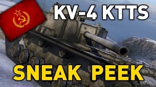 World of Tanks || KV-4 KTTS - Sneak Peek
