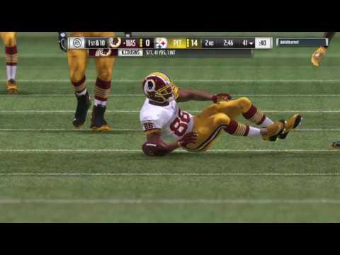 Washington Redskins VS Pittsburgh Steelers