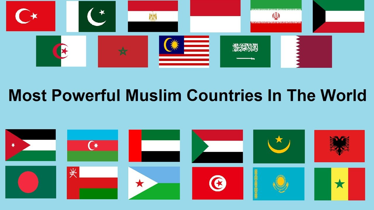 Most Powerful Muslim Countries In The World YouTube - Most powerful country in the world