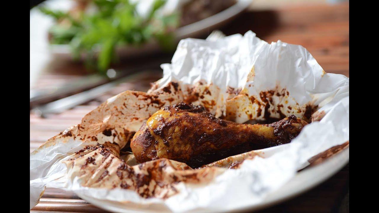 Mixiotes de pollo estilo puebla recetas de comida for Preparar comida