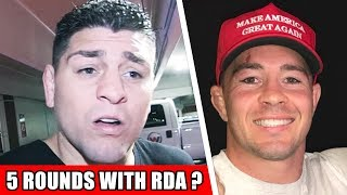 Nick Diaz rips Colby Covington on instagram, Colby responds, Cormier vs. Brock Lesnar