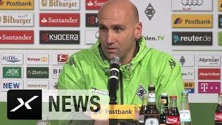 André Schubert nach Borussia Mönchengladbach vs. 1. FC Köln (1. Bundesliga, 2015/16)