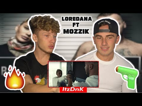 Loredana feat. Mozzik 🔫 BONNIE & CLYDE 🔫 (OFFICIAL REACTION!!!)