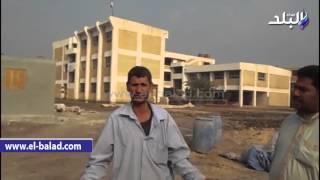 بالفيديو الصور.. أهالي 'منشأة عبد الرحمن' يشكون من ضعف الخدمات