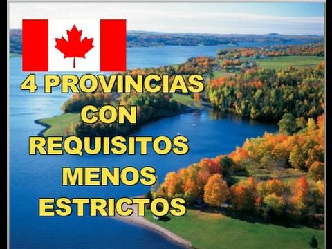 MAS FACIL VENIR A CANADA /4 PROVINCIAS ATLANTICAS, PLAN NUEVO 2017