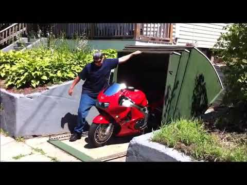 Motorcycle Shelter Tank 2