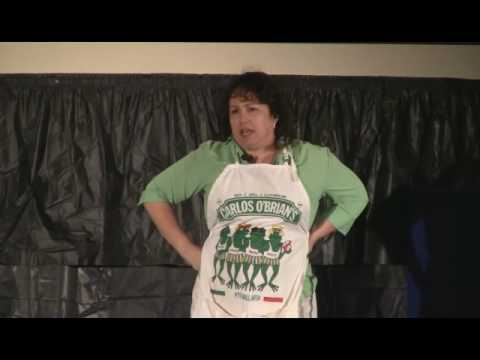 Linda Evans wins Toastmasters Tall Tales