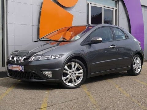 2010 Honda Civic ES 2.2i-CTDi Hatchback Grey For Sale In Hampshire