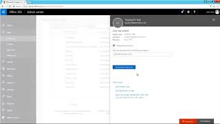 How to create a user account in Office 365