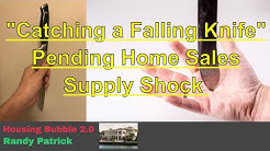 Housing Bubble 2.0 - Catching a Falling Knife - Pending Home Sales - Supply Shock