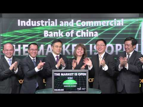 Industrial and Commercial Bank of China (ICBC) opens Toronto Stock Exchange, March 25, 2015