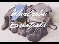 TEN ESSENTIALS TO BUILD YOUR WARDROBE | BASIC CASUAL STAPLES