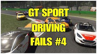 Gran Turismo Sport Fails Compilation #4