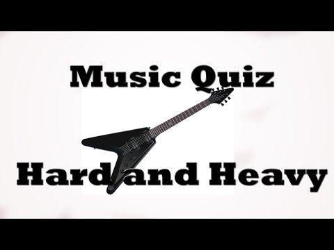 Music Quiz - Hard and Heavy