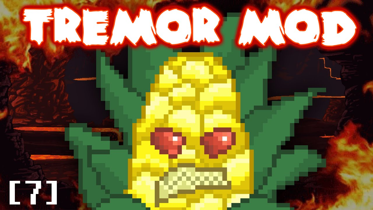 Terraria's Scary New Boss | Tremor Mod Let's Play Part 7