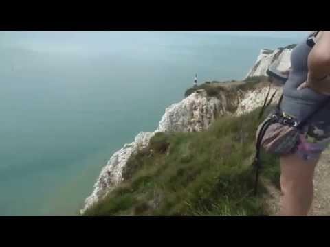 South Downs way coastal path wander Sussex 29/8/15