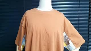 [토키오] 페이즐리 리넨 반팔 티셔츠를 소개합니다 / …