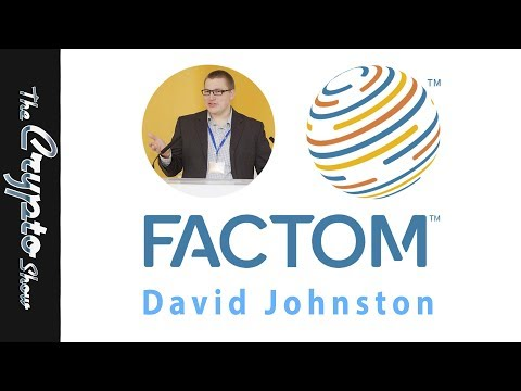 Crypto as a Settlement Layer - David Johnston from Factom