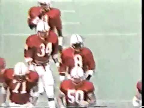 1982 Iowa Hawkeyes 3 Nebraska Cornhuskers - YouTube