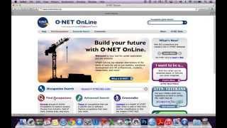 O*Net - Skill Information