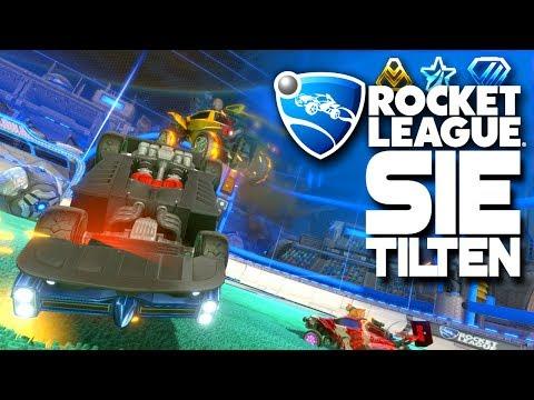 Sie TILTEN rein... 🚀 Rocket League German Gameplay